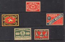 Tabacofilia Frontales marcas cajas de Cerillas fabricación Sueca (DM-642)