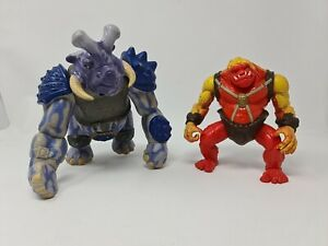 1998 Hasbro Dreamworks Small Soldiers Gorgonite Punchit & Flatchoo Incomplete