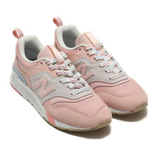 NEW BALANCE WOMEN'S CLASSIS SUEDE LIFESTYLE SNEAKERS CW997HKC-B AUTHENTIC PINK