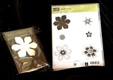 Stampin Up Stamp Set Beautiful Bunch Large Fun Flower Punch Bundle