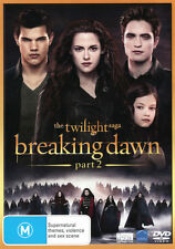 The Twilight Saga: Breaking Dawn - Part 2 * NEW DVD * (Region 4 Australia)