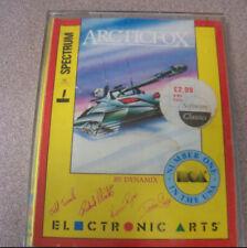 """Vintage Spectrum 48k 1980s Cassette Video Game 4"""" X 5.5"""" Electronic Arts Arctic"""