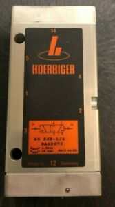 Hoerbiger 5/2 Wegeventil S9 562 - 1/4 PA12678