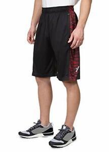 Spalding - Men's Extreme Performance Spacedye Basketball Shorts - Black - XL