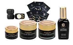 ELIZABETH GRANT Caviar Cellular Recharge 4 Piece Kit w/ FREE BONUS GIFTS