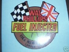 LAMBRETTA BSA NORTON amal WAL PHILLIPS FUEL INJECTOR STICKER TS1 SX200 TV200