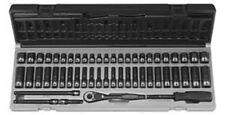 "Grey Pneumatic 89653CRD 1/4"" Dr 6 Point 53 Pc Fract & Metric Duo Socket Set"