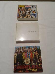 THE BEATLES - Lot de 7 CD ET DOUBLE CD