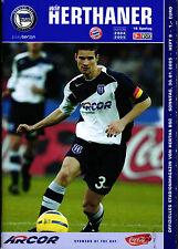 BL 2004/2005 Hertha BSC - FC Bayern München, 30.01.2005