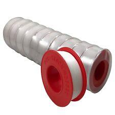 "Pipe & Thread Sealant PTFE Teflon Tape 1/2"" x 520"" (44 FT) - 10 Rolls Per Sleeve"