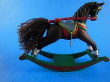 "HALLMARK KEEPSAKE ROCKING HORSE ORNAMENT 1994 4"" wide"