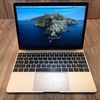 "Apple MacBook 2017 Gold 12"" Retina 512GB SSD 8GB RAM 1.3GHz Intel i5 Tested"