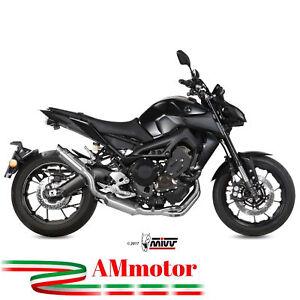 Scarico Completo Yamaha MT 09 2020 Mivv Gp M2 Inox Moto Terminale Collettori