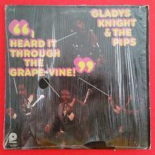 GLADYS KNIGHT Heard It Through The Grape Vine LP Vinyl VG+ Cover Shrink SPC 3534