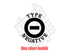 Type O Negative vinyl sticker decal cd car ipad peter steele (window optional)