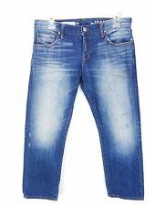 Gap 1969 Sexy Boyfriend Jeans 26P Medium Wash Japanese Selvedge Distressed