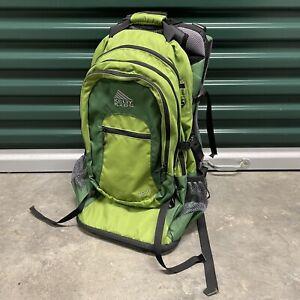 Kelty Kids TC 2.1 Child Carrier Toddler Baby Hiking Backpack Green Travel Bag