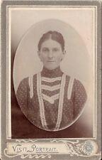 CDV photo Damenportrait - Ungarn ? um 1910