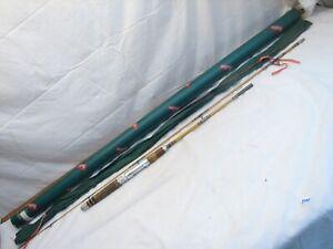 Vintage Heddon Pal 6-1/2' 2-pc Fiberglass Fishing Rod #7562 Mark V w/Bag/Tube