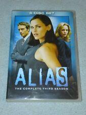 Alias: Season 3, DVD, , Maryann Brandon, Max Mayer, Ken *RARE opp
