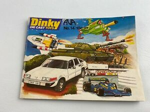 Vintage 1978 No 14 DINKY Toys Collectors Catalog Booklet Guide 43 Pages, Cars