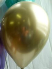 Gold Chrome Latex Balloons,Shower, Wedding Decorations Birthday Party Supplies