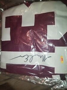 MIKE EVANS  Autographed Signed Jersey TRISTAR COA