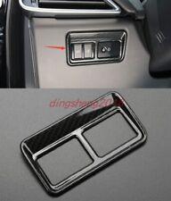Carbon Fiber Style Rear Trunk Switch Button Cover Trim For Jaguar F-PACE 16-2020