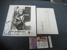 "Rod Stewart Autographed 8x10 Photograph JSA Certified ""To Paul"""