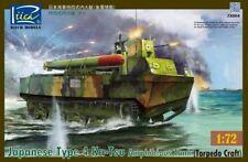 Riich 1/72 RT72004 Japanese Type 4 Ka-Tsu Amphibious Tank (Torpedo Craft)