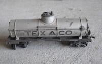Vintage HO Scale Varney Texaco TCX 6305 Tank Car
