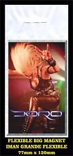 DORO FLEXIBLE BIG MAGNET IMAN GRANDE 0106 WARLOCK