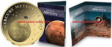 2017 Tschad, MERKUR Meteorit, 3000 Francs Gold Goldmünze! Chad Mercury Meteorite