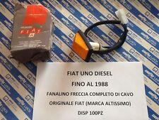 FANALINO LATERALE FRECCE FIAT UNO  ORIGINALE FIAT MARCA ALTISSIMO FINO AL 1988