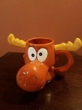 Bullwinkle Mug_Character Mug_1995_Cartoon_Rocky & Bullwinkle