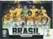 Panini Prizm Copa 2014 tarjeta de equipo #6 Wold Brasil