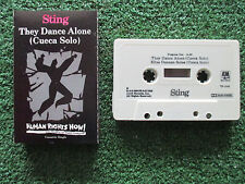 STING **They Dance Alone (Cueca Solo) / Ellas Danzan...** CASSETTE SINGLE NO LP