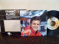 """7"""" EP - FRANK ALAMO - 3 dédicaces - Le chef de la bande VG+/EX - RIVIERA 231.044"""