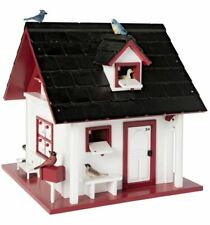 Unique Bird Cottage 3-D Wooden Advent Calendar with Mini Bird figures