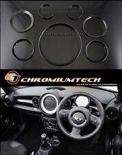 MK2 MINI Cooper/S/One R55 Clubman R56 Hatch R57 R58 R59 BLACK Interior Ring Kit