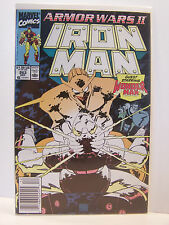 Marvel Comics The Invincible Iron Man 263 Bagged and Boarded December 1990