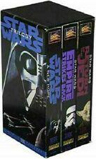 Lot of 3 vintage Star Wars Trilogy 1995 VHS Tapes THX Mastered