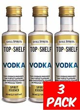 Still Spirits Top Shelf VODKA - 3 Pack - Spirits, Liqueurs, Homebrew