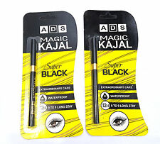 BUY 1 GET 1 FREE ADS MAGIC KAJAL SUPER BLACK EXTRA ORDINARY CARE WATERPROOF-628-
