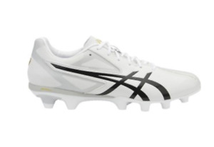 ASICS LETHAL SPEED FLASH It P600Y FOOTBALL SOCCER BOOTS US9 WHITE BLACK