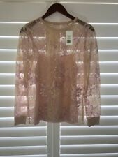 Elie Tahari -  Hand Embroidered Floral Top
