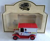 LLEDO PROMOTIONAL FOTORAMA FORD MODEL T VAN DIECAST BOXED