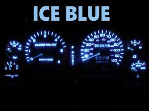 Gauge Cluster LED Dashboard Bulbs Ice Blue For 1994 1997 Dodge Ram 1500 2500