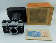 ZENIT ET 35 mm SLR Film Camera M42 mount body only #84162910