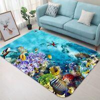 3D Marine seaweed 6375 Non Slip Rug Mat Room Mat Quality Elegant Photo Carpet AU